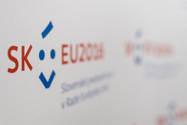 Slovenské predsednícke logo.