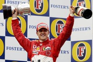 Michael Schumacher vyhral počas kariéry 91 veľkých cien formuly 1.