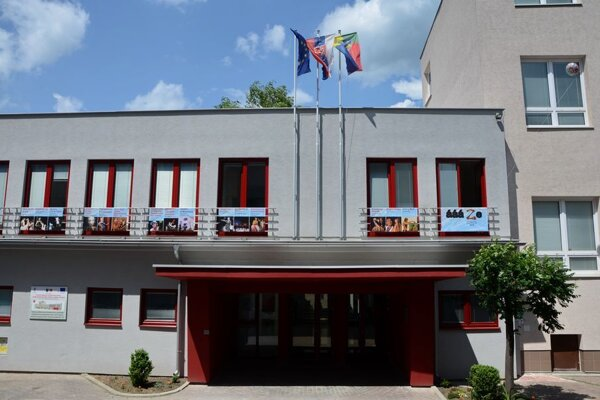 Budova Bábkového divadla v Žiline.