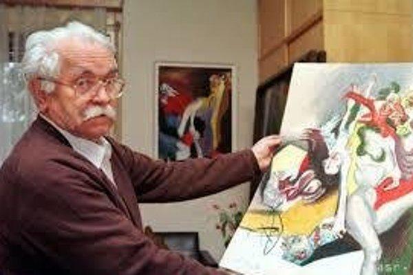 Zakladateľ modernej slovenskej grafiky, maliar európskeho rozmeru, ilustrátor, pedagóg a národný umelec Vincent Hložník (1919 – 1997).