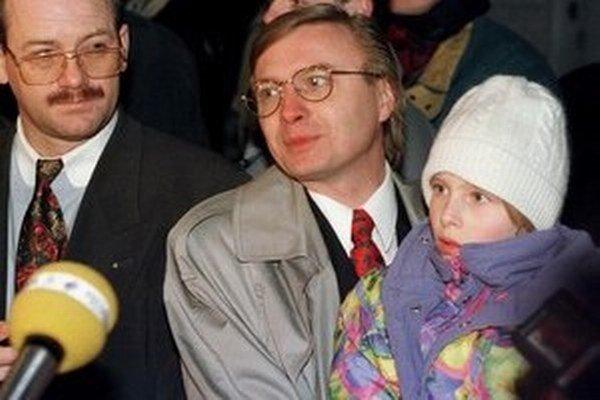 Michal Kováč mladší v roku 1995.