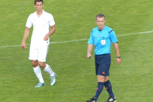 Autor prvého gólu Daniel Šebesta.
