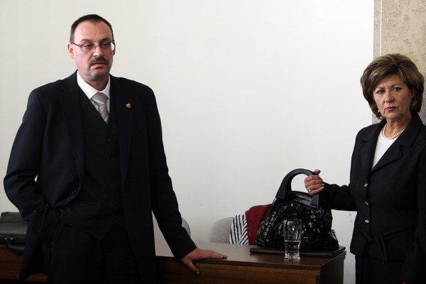 Dobroslav Trnka a Eva Mišíková.
