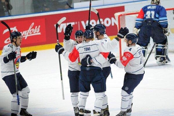 Hokejisti Vítkovíc zaslúžene postúpili do ďalšej fázy.