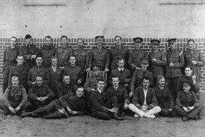 Kanadskí zajatci v Nemecku.