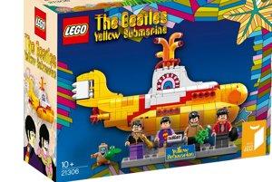 Stavebnica Lego The Beatles Yellow Submarine pozostáva z viac, než 500 kusov.