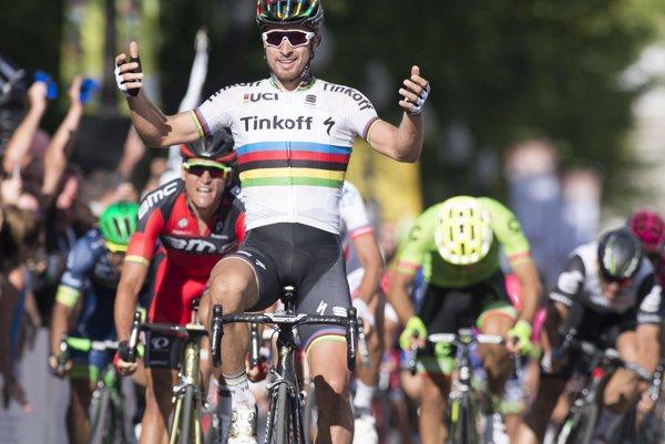 Peter Sagan ovládol preteky v Quebecu minulý rok ešte vo farbách tímu Tinkoff.