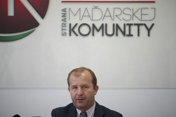 Kandidát SMK na europoslanca Iván Farkas.