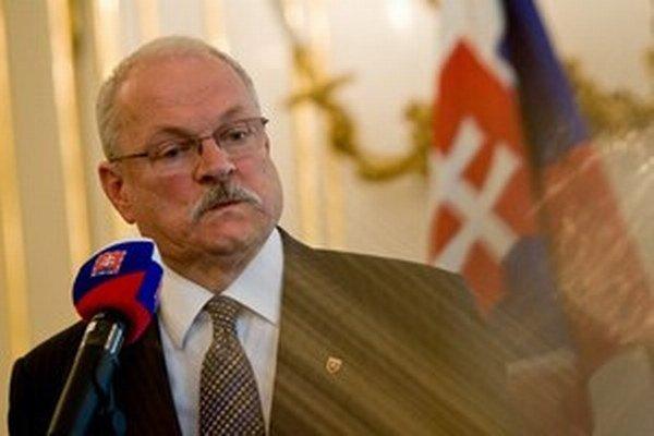 Prezident Ivan Gašparovič chce vymenovať nových ústavných sudcov.