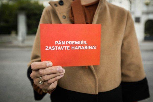 Pohľadnica pre premiéra.