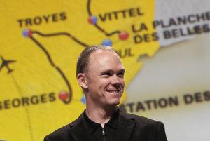 Chris Froome na prezentácii Tour de France 2017.