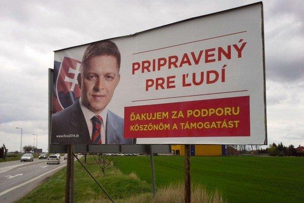 Fico na juhu ďakuje po maďarsky.