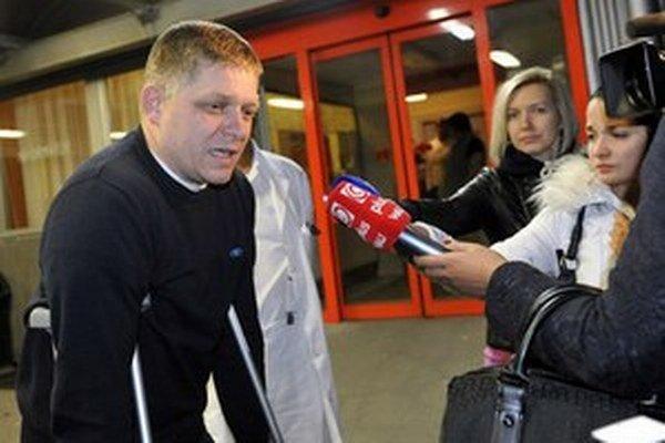Šéfa Smeru operovali v Bratislave.
