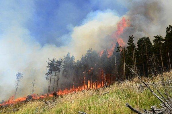 Najvyššiu škodu vlani spôsobil požiar pri Betliari.