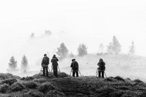 Lovci svetla. 1. miesto v kategórii Black&White