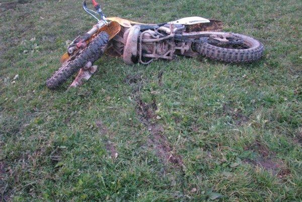 Krupinčan na motorke havaroval. Ilustračné foto.