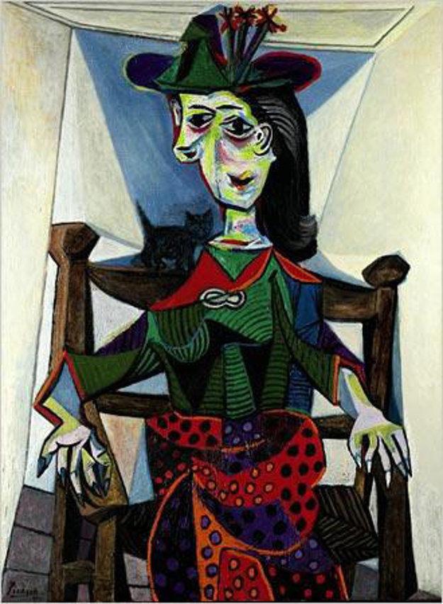 Dora Maarová, 1941