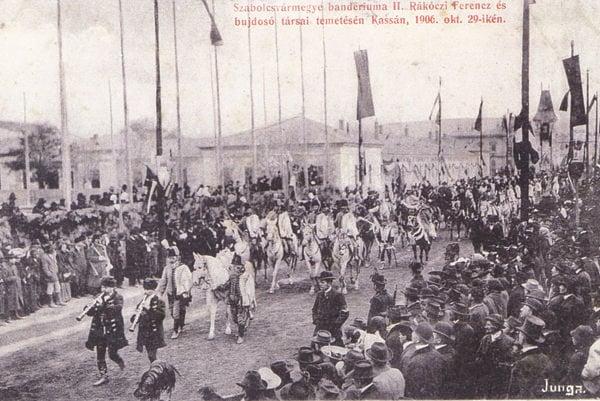 Smútočný sprievod, 29. 10. 1906.
