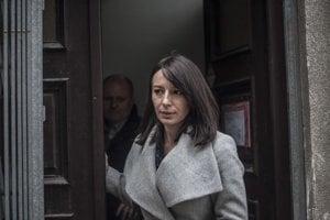 Hedviga Žáková-Malinová prišla v pondelok na psychiatrické vyšetrenie, ktoré žiada prokuratúra.
