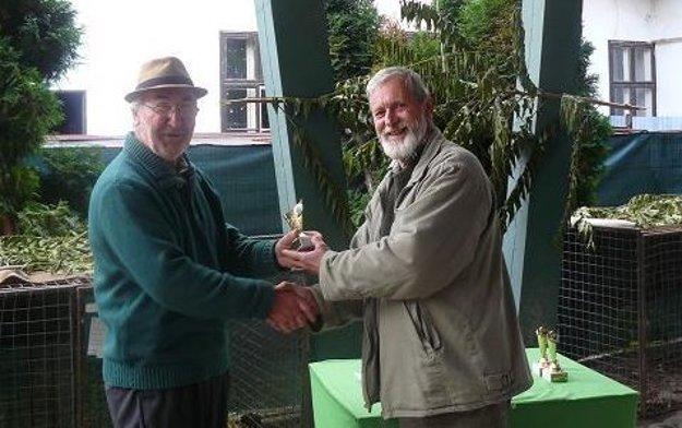 Cenu dostal aj Michal Berežný.