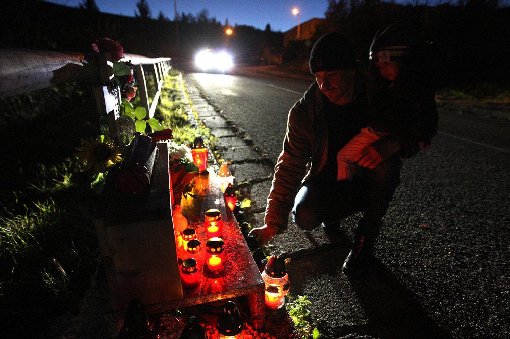 Spomína sa aj na obete dopravných nehôd