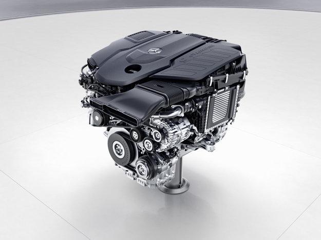 Radový šesťvalcový turbodiesel Mercedes-Benz OM656