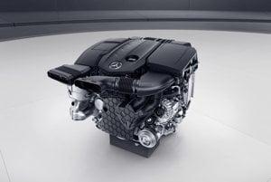 Štvorvalcový diesel Mercedes-Benz OM654