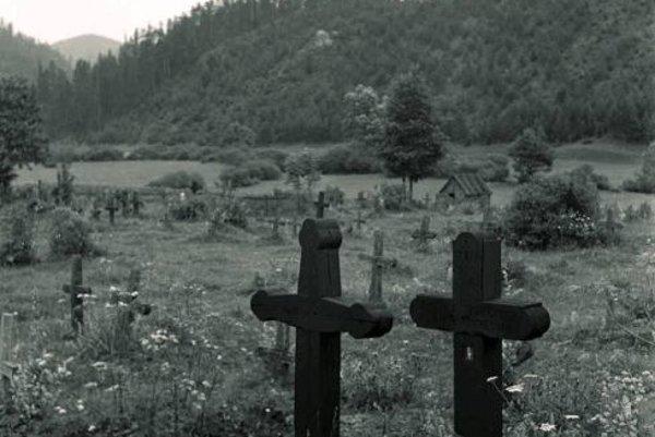 Cintorín vo Vernári - rok 1956.