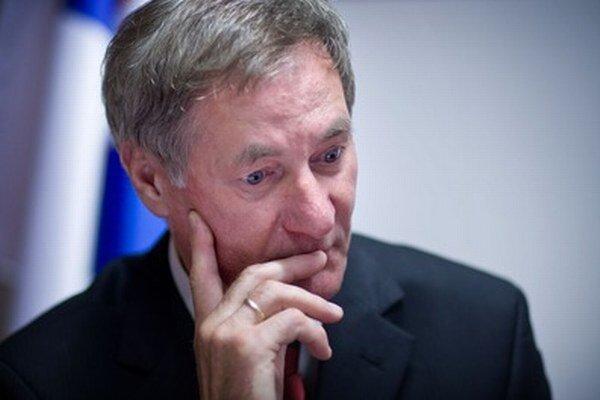 Predseda poslaneckého klubu KDH a prezidentský kandidát Pavol Hrušovský.