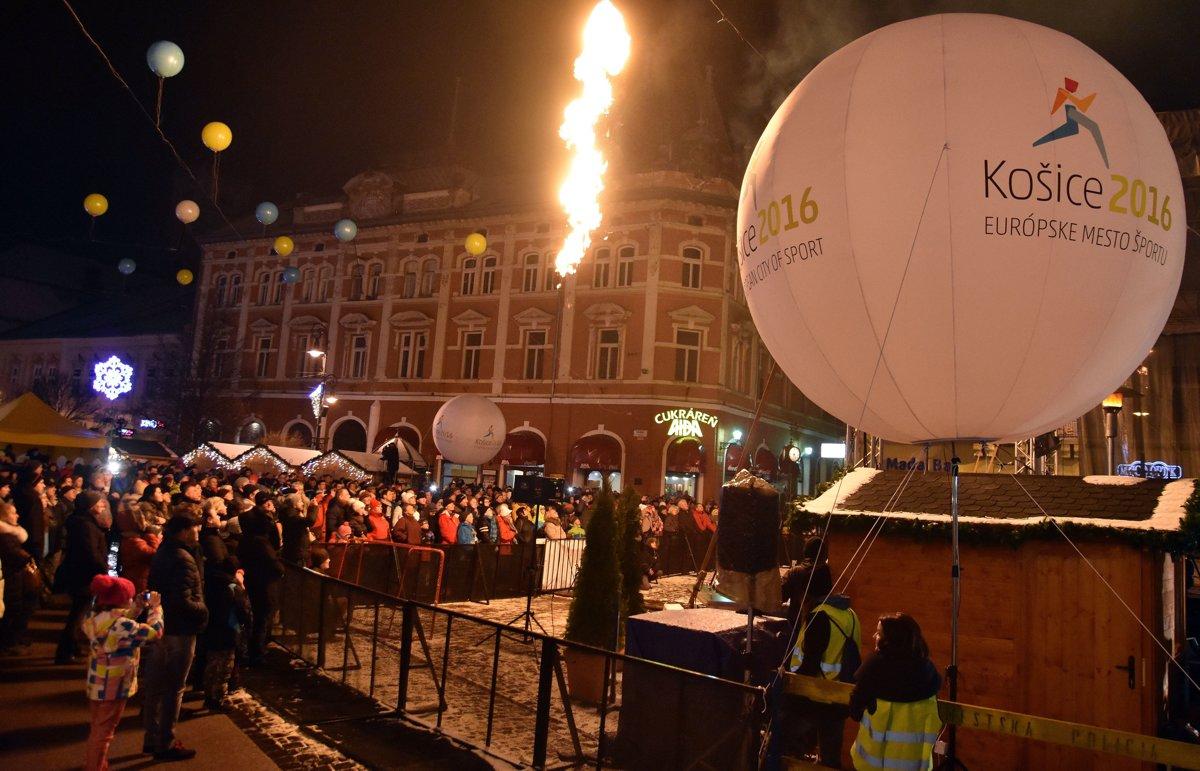 39a78e977d4f0 Takto vyzeral otvárací ceremoniál Európske mesto športu 2016 v Košiciach.
