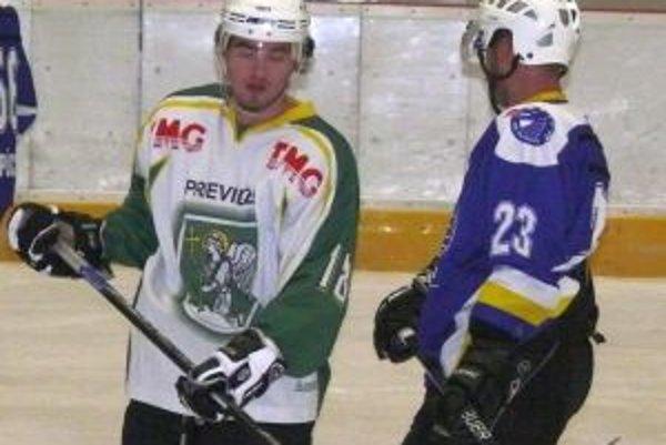 Martin Indrych (vľavo) v drese MŠHK.