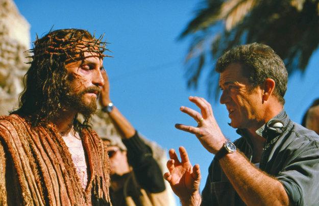 Pri natáčaní filmu Umučenie Krista
