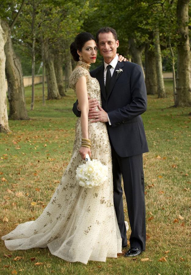S Anthonym Weinerom sa vzali v roku 2010.