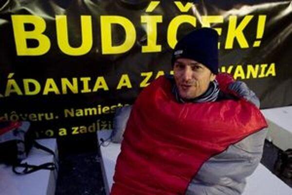 Pre Igora Matoviča to nebude prvá protestná stanovačka.