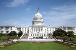 Washingtonský Capitol, sídlo amerického Kongresu.