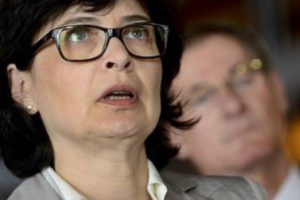 Predsedkyňa poslaneckého klubu SDKÚ Lucia Žitňanská.