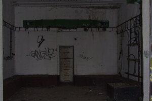 Interiér jedného z troch bunkrov. Priestory boli vybavené vzduchotechnikou.