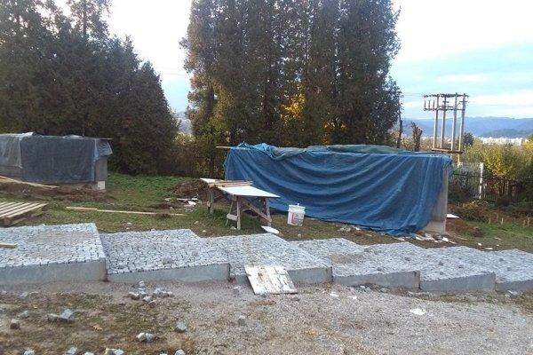Bôrický cintorín bude mať aj nové schody.