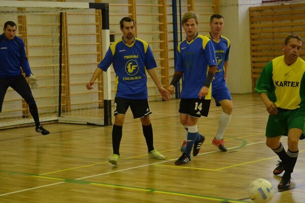 FC Thorma zdolala nováčika Starvys 12:8.