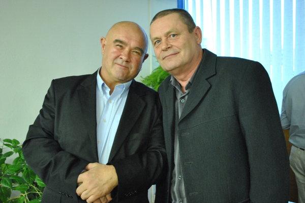 Ján Salva aJozef Hyc. Kamaráti nielen ztransfúzky.