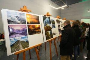 Výstava fotografií na Horalfeste 2016 v Ružomberku.