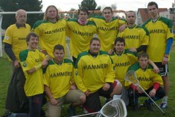 Hráči Prievidze Hammers.