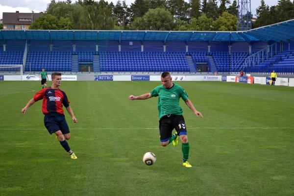 Futbal bol jeho vášeň. Michal Palguta (vpravo) naposledy hrával za Veľkú Lomnicu.