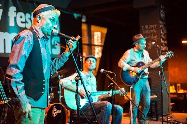 Hlavnou hviezdou Blues Moods bola kapela Mojo Workings.