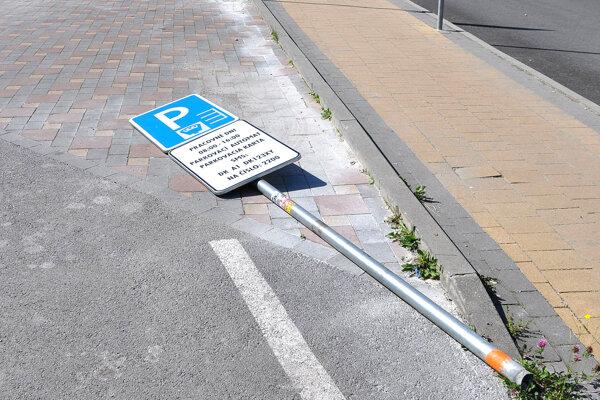 tržby za parkovanie sa dozvieme až koncom roka.