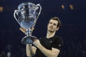 Andy Murray ovládol turnaj majstrov a rok ukončí ako svetová jednotka.