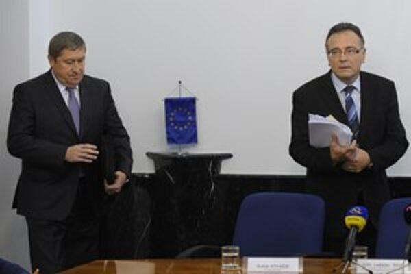 Ladisav Tichý (vpravo) sa Trnku zastával.