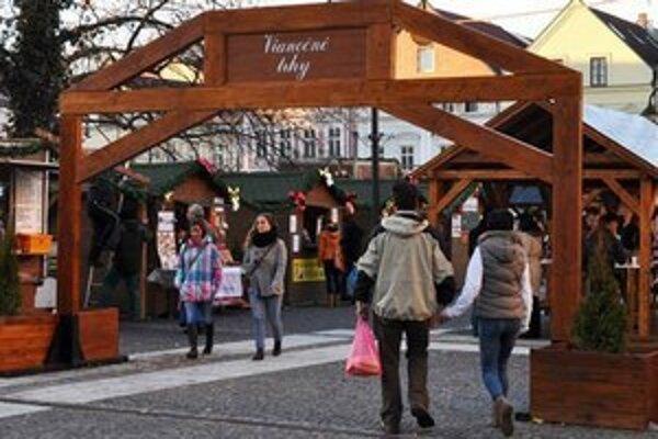 Vianočné trhy v Žiline.