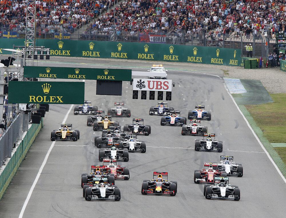 Na Veľkej cene Nemecka obsadil pole position Lewis Hamilton.