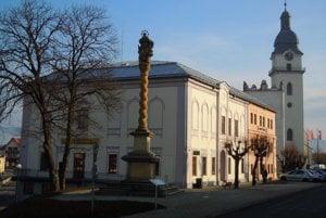 Spišská Belá. Historické centrum mesta.